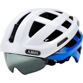 ABUS In-Vizz Ascent Casco, blue comb